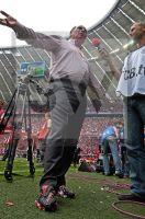 Uli Hoeneß - Allianz Arena Muenchen - Deutsche Meisterschaft 2008 - Fotoagentur Sofianos Wagner