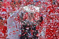 Ottmar Hitzfeld - FC Bayern Muenchen - Deutsche Meisterschaft 2008 - Fotoagentur Sofianos Wagner