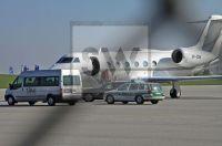 Hasan Ismaik - Ankunft des neuen Investors. FJS Airport München am 9. April 2011