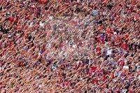 Massenkultur - Fans des FC Bayern Muenchen - Fotoagentur Sofianos Wagner