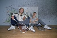 Roman Tyce mit Tochter- Home Story 2008 - Fotoagentur Sofianos Wagner
