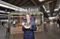 TZ Muenchen - Umfrage Gesunde Ernährung in Bayern - DEAN und DAVID - Hbf Muenchen