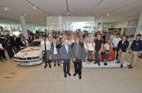 BMW - Frankfurter Ring München 1. September 2016. Erster Arbeitstag der neuen Auzubildenden. Peter Mey mit OB Dieter Reiter 05