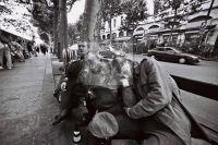 People Street Analog Paris Clochard