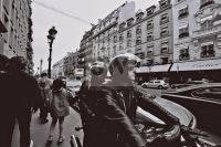 People Street Analog Paris