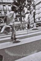 People Street Analog SW Paris 2000